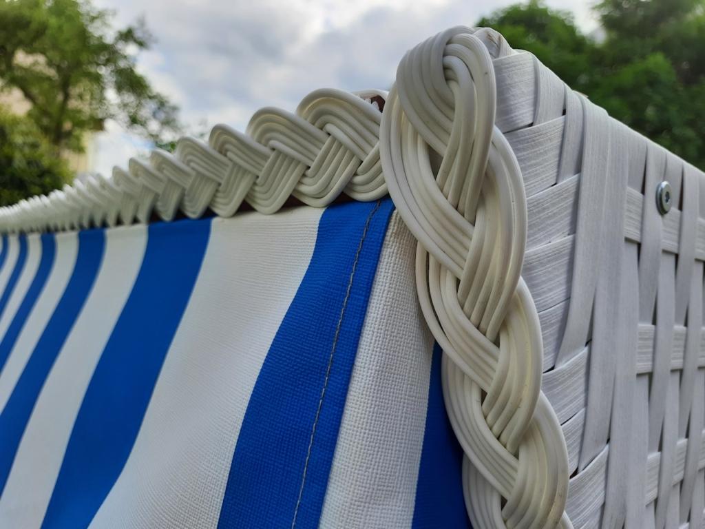 Strandkorb wetterfest Detail
