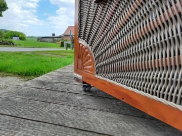 Strandkorb Tester Holz Design Düne